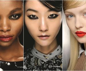 fashion, M.A.C, and make up image