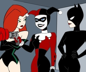 bad girls, poison ivy, and catwoman image