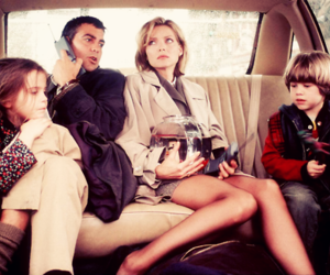 michelle pfeiffer, george clooney, and kids image