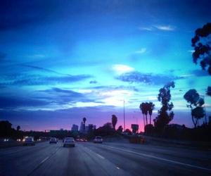 la, blue, and los angeles image