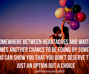 <3, balloons, and chances image