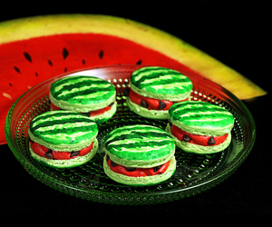 Cookies, dessert, and watermelon image