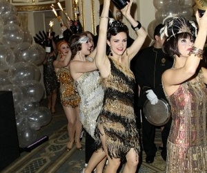 girls, party, and the great gatsby image