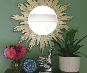 diy, mirror, and sunburst image