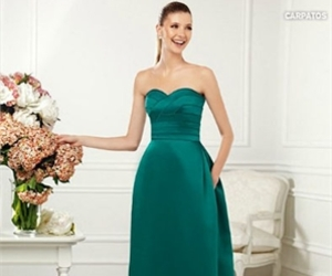 cocktail dress, party dress, and prom gown image