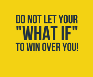 what if and win over you image