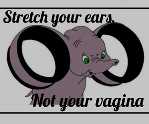 ears, funny, and gauges image