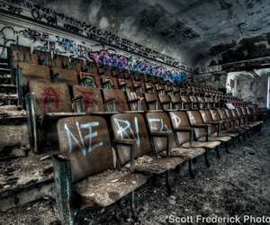hdr, urban exploration, and urbex image