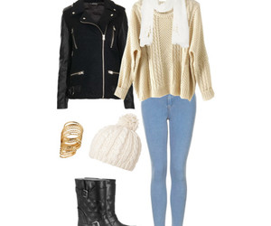 accessories, girl, and leatherjacket image