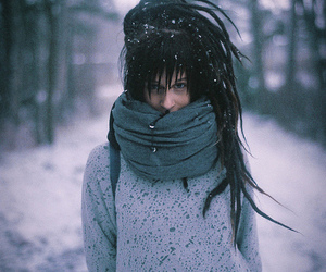 dreads, cold, and dreadlocks image