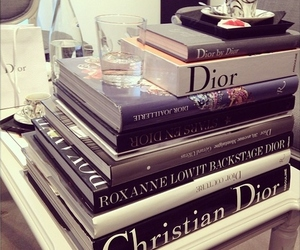 book, dior, and fashion image