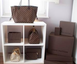 bag, Louis Vuitton, and fashion image