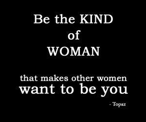 quote, woman, and true image