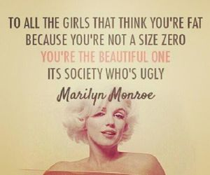 Marilyn Monroe, quotes, and society image