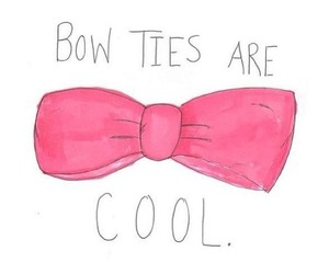 cool, pink, and bow image