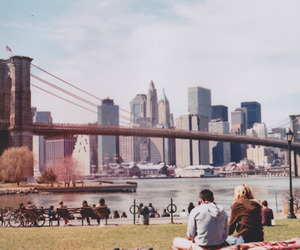 new york, city, and couple image