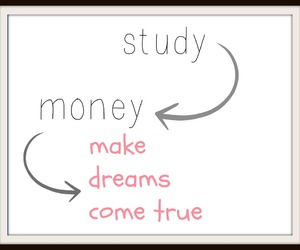 Dream, life, and money image