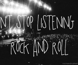 rock and roll, music, and rock image