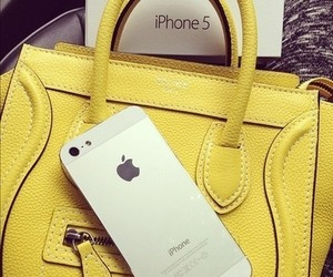 iphone, bag, and iphone 5 image