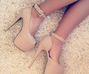 beautiful, high, and shoes image