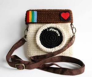 instagram, bag, and camera image