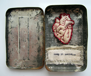 heart, secret, and art image