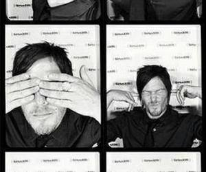 norman reedus and twd image