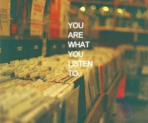 music, listen, and quote image