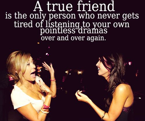 bffs, friendship, and quote image