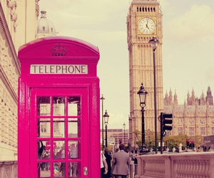 london, telephone, and Big Ben image