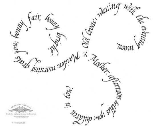Celtic Womanhood Symbol Uploaded By Cherry Howell
