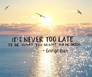 quote, life, and never image