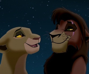 disney, lion, and lion king image