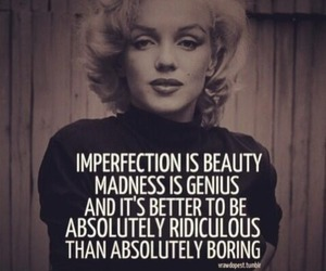 quotes, Marilyn Monroe, and beauty image