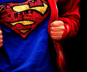 superman and red image