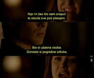 ljubav, quotes, and the vampire diaries image