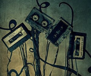 cassette and rock image