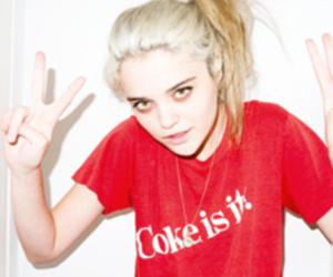 sky ferreira, grunge, and coke image