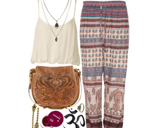 girl, hippy, and hippie image