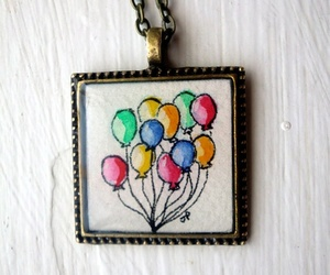 accessory, art, and balloons image