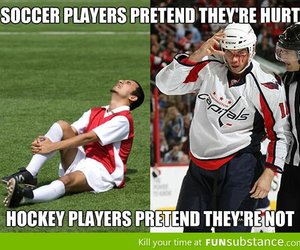 funny, hockey, and sport image