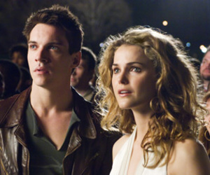 august rush, couple, and keri russell image