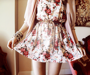 beautiful, dress, and pretty image