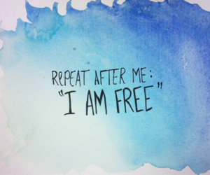 free, quote, and freedom image