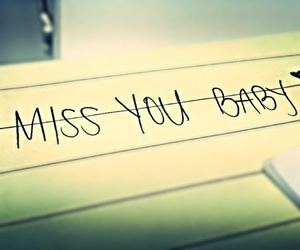 i miss you, love, and longing image
