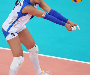 italy, volleyball, and woman image