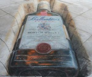 art, cool, and Julian Beever image