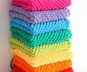colorful and sweater image