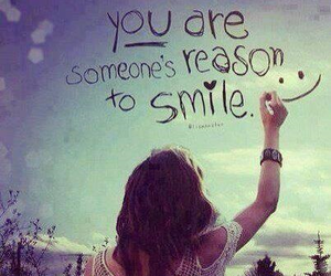 quote, sky, and smile image