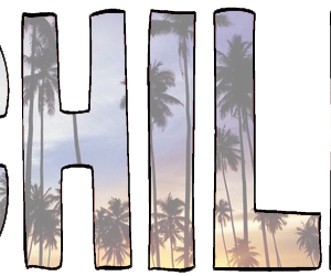 chill, palm trees, and transparent image